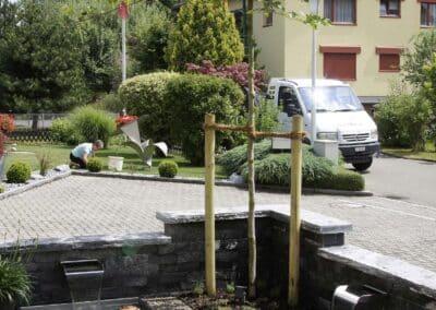 Brunnen Seiler Gärten Thurgau Gartenbau