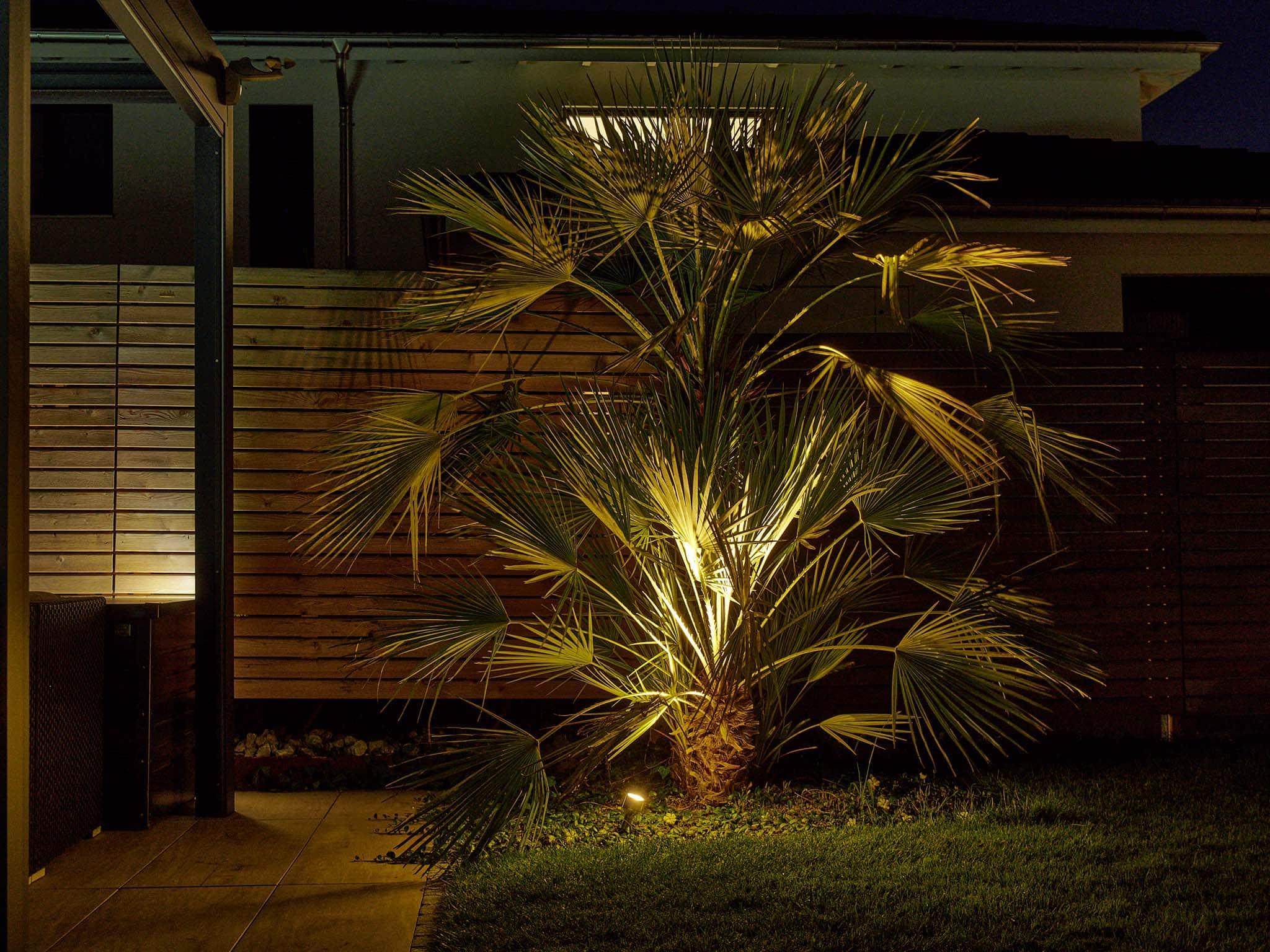 Gartenbeleuchtung Boden